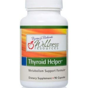 Thyroid Helper – Natural Supplement for Metabolism & Energy (90 Capsules)