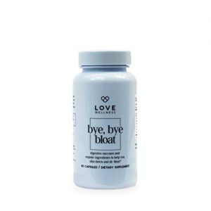 Love Wellness Bye, Bye, Bloat – Digestive Enzymes for Gut Health