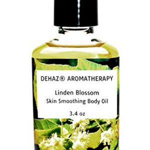 Slovenian LINDEN BLOSSOM- BODY OIL – DEHAZ Skincare 100% Pure Natural Vegan Botanical Aromatherapy Body Oil
