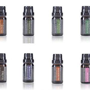 Aromatherapy Oils 100% Pure Basic Essential Oil Gift Set by Wasserstein (Top 8)